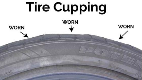 タイヤのカッピング