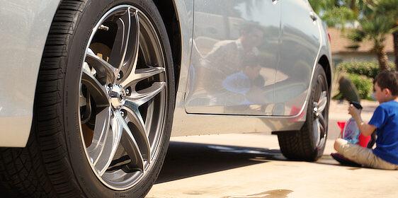 タイヤ洗浄, タイヤ, 中古タイヤ, リム