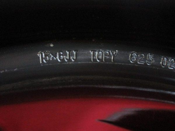 ホイール 4本 日産純正 15×6J 4穴114.3