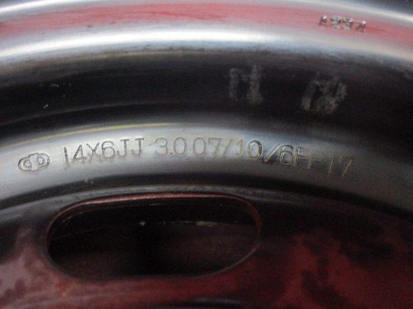 ホイール 4本 トヨタ純正 14×6J 5穴100