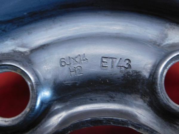 ホイール 2本 VW フォルクス ワーゲン
