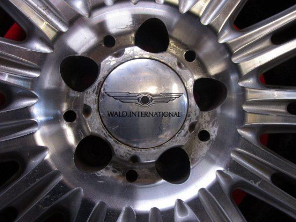 4本 WALD 20×10J 9J 5穴114.3