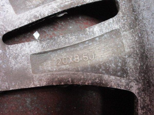 4本 20×8.5J 5穴 PCD 127