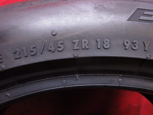 1本 215/45ZR18 コンチネンタル EXTREMECONTACT DW5