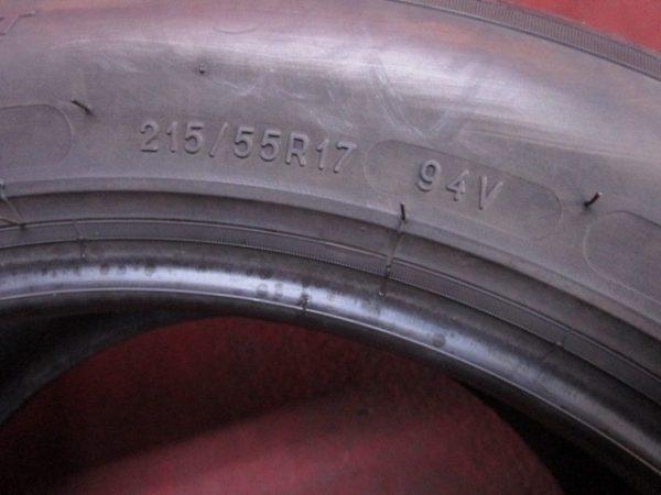 1本 215/55R17 ミシュラン GREEN X