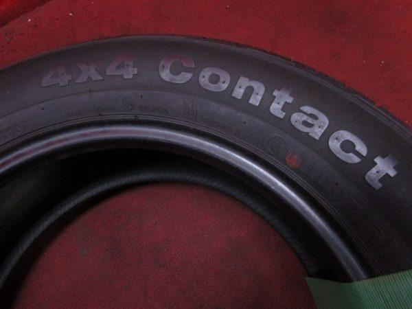 1本 225/60R17 コンチネンタル 4×4 CONTRACT