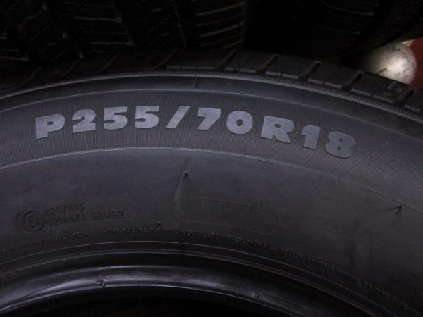 4本 P 255/70R18 ミシュラン LTX