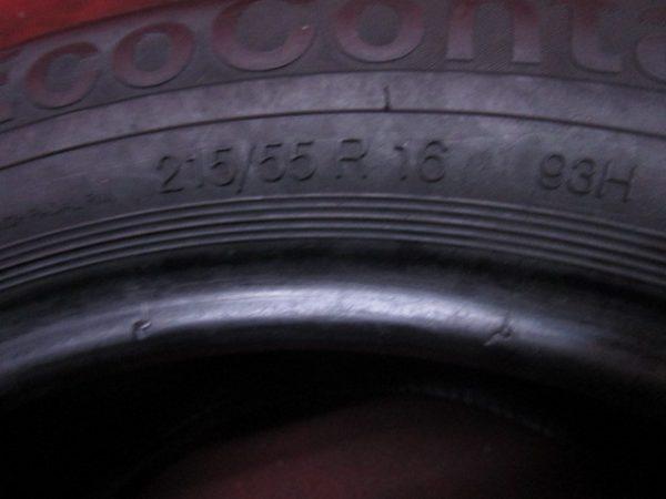 1本 215/55R16 コンチネンタル CONTI ECO