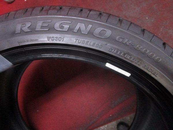 1本 265/35R18 ブリジストン レグノ RENGO