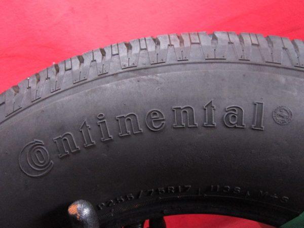 1本 P 255/75R17 コンチネンタル CONTINENTAL