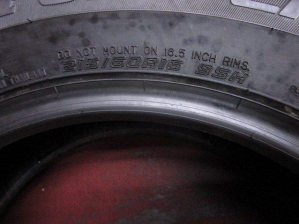2本 215/60R16 ダンロップ SP SPORT