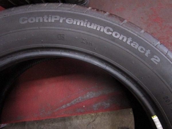 2本 215/55R18 コンチネンタル Conti premium
