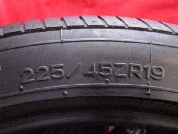 2本 225/45ZR19 ナンカン AS-1 バリ山