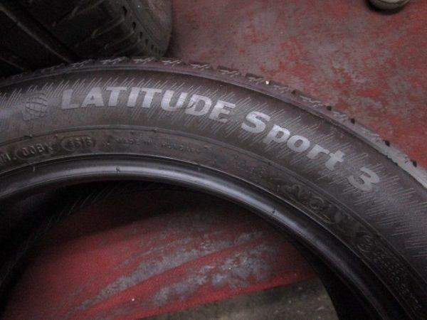 2本 235/50R19 ミシュラン LATITUDE Sport